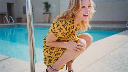Christina Applegate, Women, Blonde, Swimming Pool, Dress
