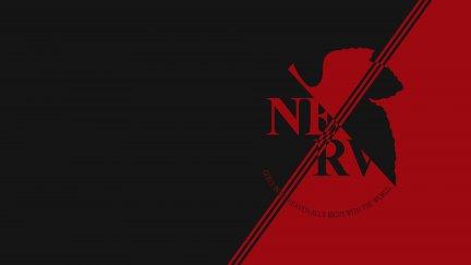 Nerv Fictional Logo Neon Genesis Evangelion 3840x2160 Wallpaper Wallhaven Cc