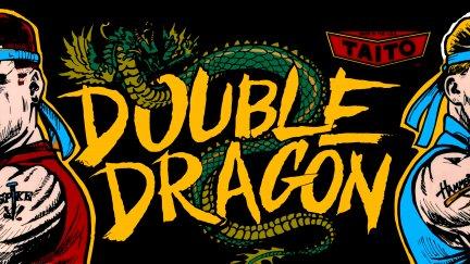 double dragon arcade marquee